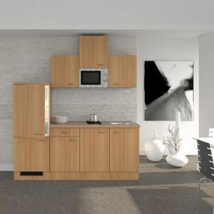Flex-Well Küchenzeile 210 cm G-210-1602-002 Nano - Bild 1