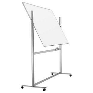 magnetoplan ferroscript-Schreibtafel mobil, drehbar - 1800 x 1200 mm - Bild 1