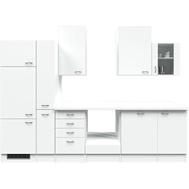 Flex-Well Küchenzeile ohne E-Geräte 310 cm L-310-2603-014 Wito - Bild 1
