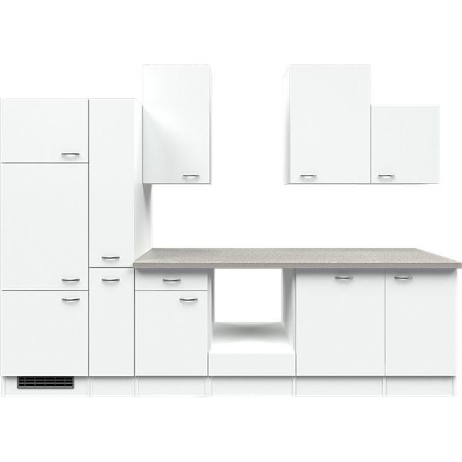 Flex-Well Küchenzeile ohne E-Geräte 310 cm L-310-2603-000 Wito - Bild 1