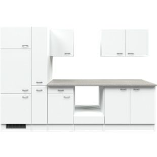 Flex-Well Küchenzeile ohne E-Geräte 300 cm L-300-2502-028 Wito - Bild 1