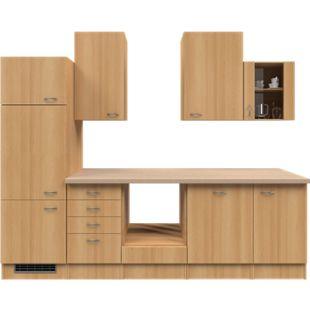 Flex-Well Küchenzeile ohne E-Geräte 280 cm L-280-2307-014 Nano - Bild 1
