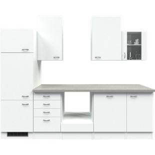 Flex-Well Küchenzeile ohne E-Geräte 280 cm L-280-2307-014 Wito - Bild 1