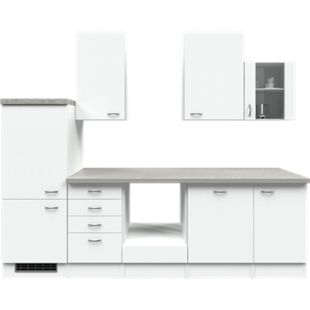 Flex-Well Küchenzeile ohne E-Geräte 280 cm L-280-2305-014 Wito - Bild 1