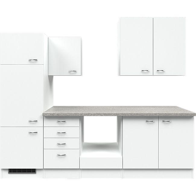 Flex-Well Küchenzeile ohne E-Geräte 270 cm L-270-2203-011 Wito - Bild 1