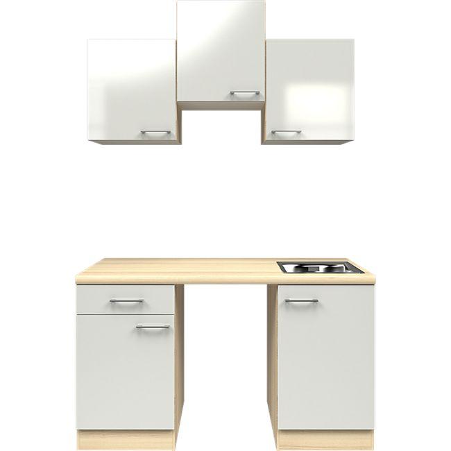 Flex-Well Küchenzeile ohne E-Geräte 150 cm L-150-1004-000 Abaco - Bild 1