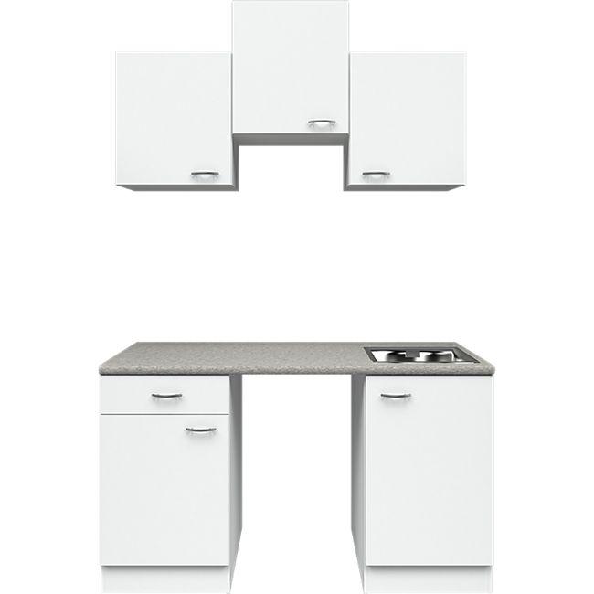 Flex-Well Küchenzeile ohne E-Geräte 150 cm L-150-1004-000 Wito - Bild 1