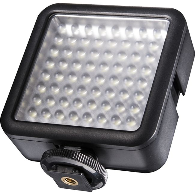 walimex pro LED Foto Video Leuchte 64 LED dimmbar - Bild 1
