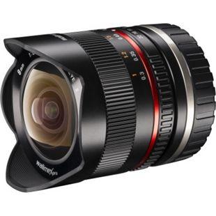walimex pro 8/2,8 Fisheye II APS-C Sony E schwarz - Bild 1
