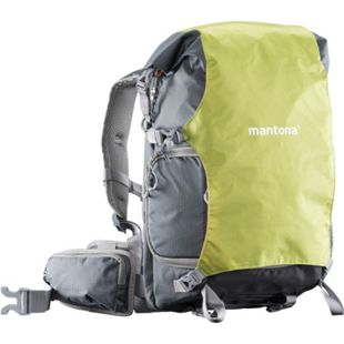mantona Kamerarucksack ElementsPro 30 - grün/grau - Bild 1