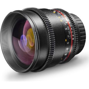 walimex pro 85/1,5 Video DSLR Canon EF - Bild 1