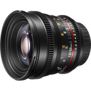 walimex pro 50/1,5 Video DSLR Canon EF - Bild 1