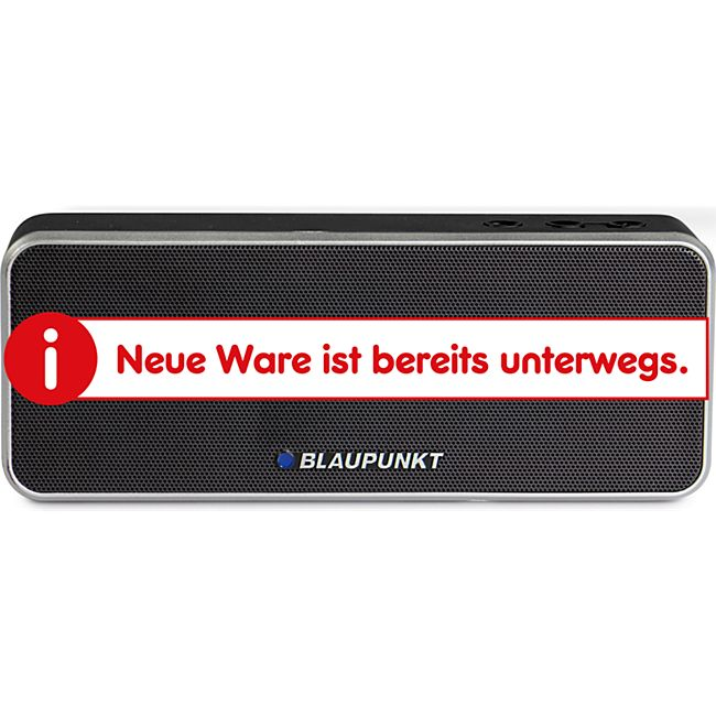 Blaupunkt Bluetooth Lautsprecher BT 6 BK - schwarz - Bild 1