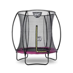 EXIT Silhouette Trampolin + Sicherheitsnetz 183 (6ft) Rosa - Bild 1