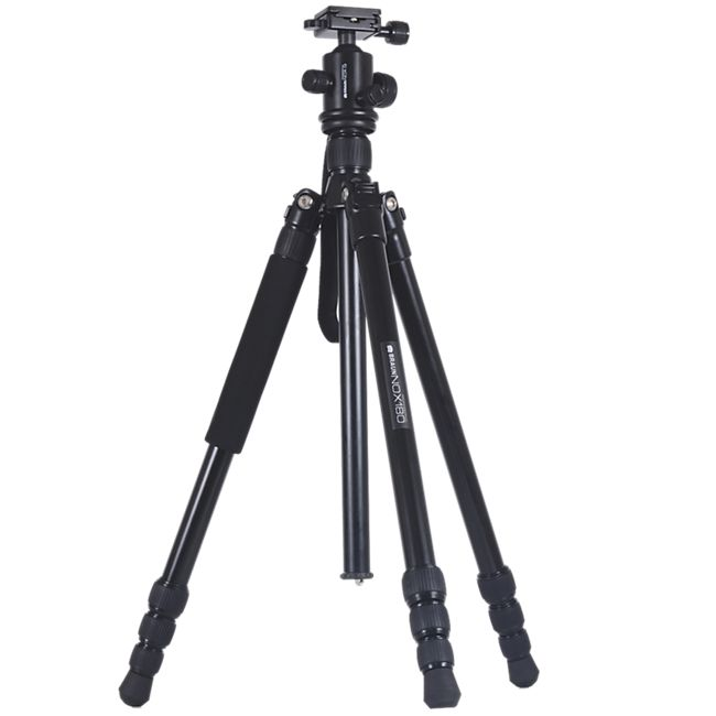 BRAUN NOX 180 Professional Stativ mit Monopod-Fuß - 180 cm - Bild 1