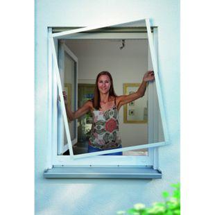 Schellenberg Insektenschutz-Fenster Premium, weiß, 100x120 cm - Bild 1