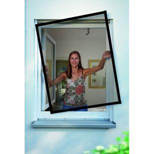 Schellenberg Insektenschutz-Fenster Premium, anthrazit, 100x120 cm - Bild 1