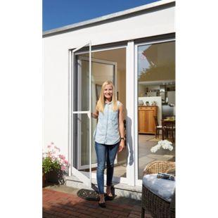 Schellenberg Insektenschutz-Tür, 100x210 cm, weiß - Bild 1