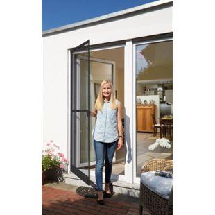 Schellenberg Insektenschutz-Tür, 100x210 cm, anthrazit - Bild 1