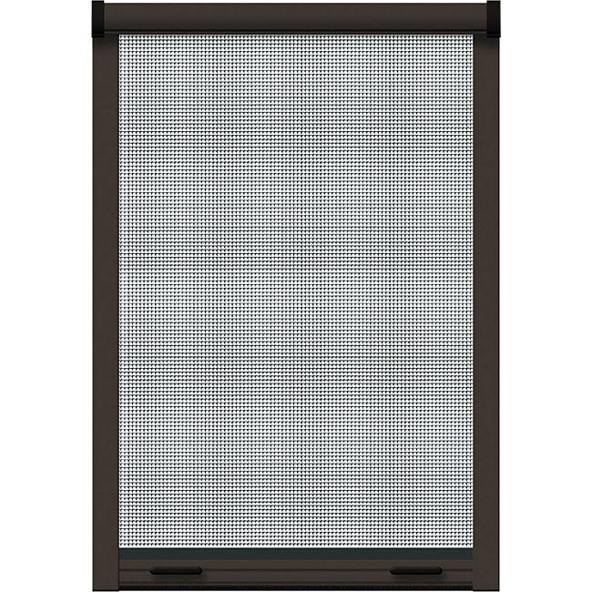 Schellenberg Insektenschutz-Klemmrollo Premium, braun, 100x160 cm - Bild 1