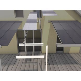 Gutta 4293703 Erweiterungsmodell Typ C weiß, 120 x 306 cm - Bild 1