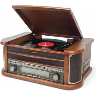 Soundmaster NR540 Nostalgie Stereo-Musikcenter mit Encoding Funktion - Bild 1