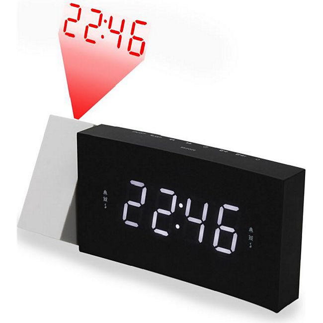 Soundmaster UR8600 UKW Uhrenradio mit Projektion und USB Handyladefunktion - Bild 1