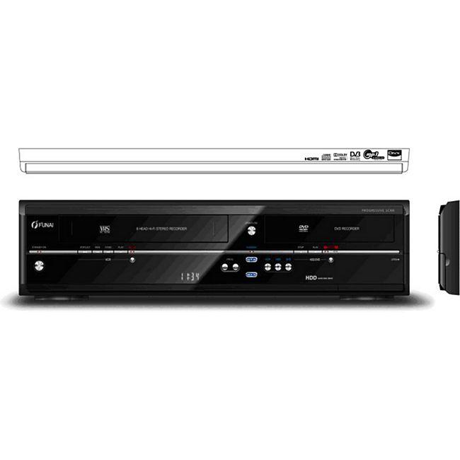Funai TD6D-D4413DB 3 in 1 HDD-DVD-Recorder & Videorekorder - Bild 1