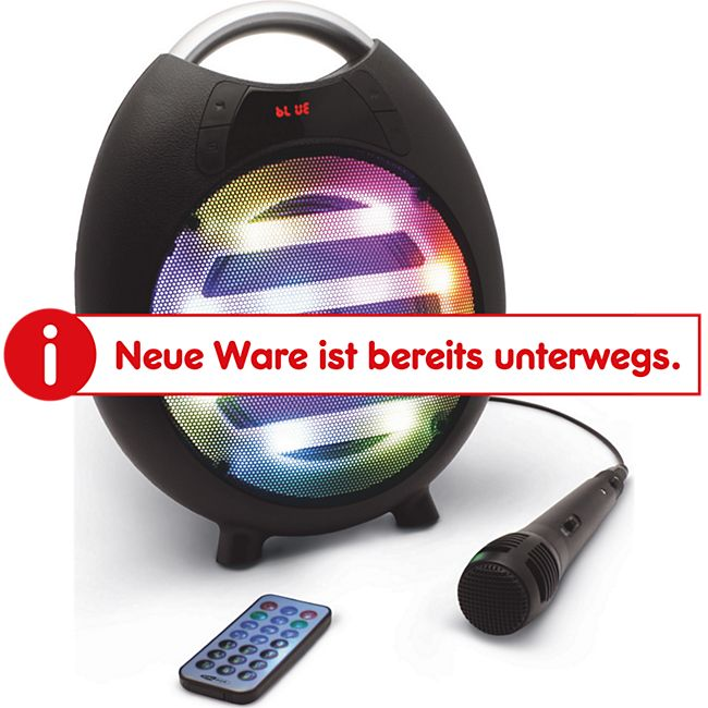 Caliber HPG 413BTL Bluetooth-Lautsprecher mit Karaoke-Funktion - Bild 1