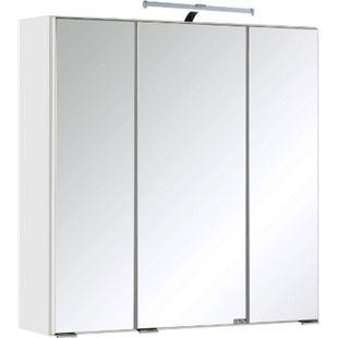 Held Möbel 3D Spiegelschrank Cardiff - 60 cm - Weiß - Bild 1