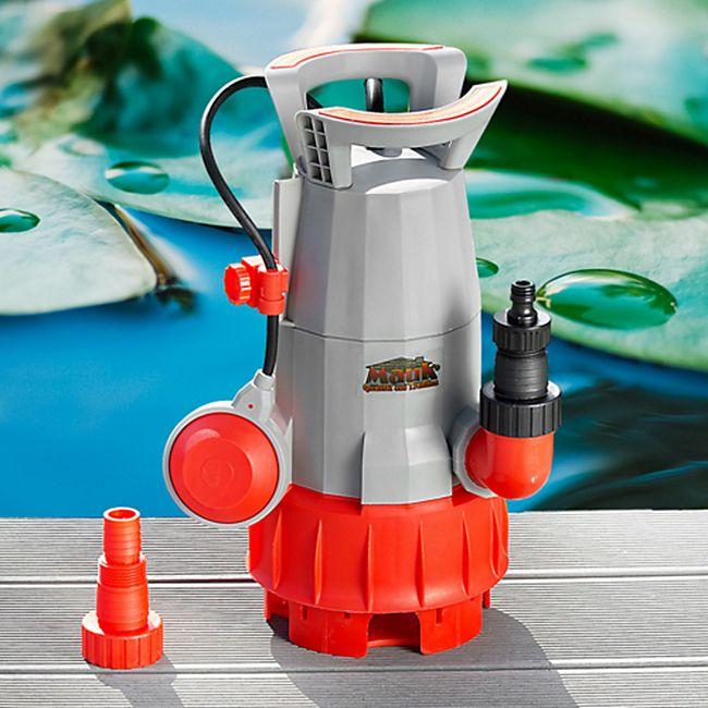 Mauk 1788 Schmutzwasserpumpe mit einstellbarer Absaughöhe 400 W - Bild 1