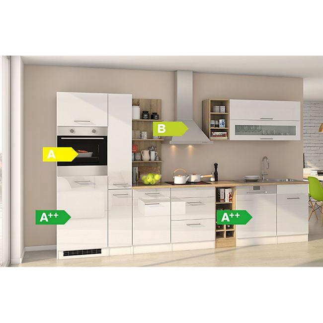 Held Möbel Küchenzeile Seattle 340GA 1782336001 cm Hochglanz Weiß - Bild 1