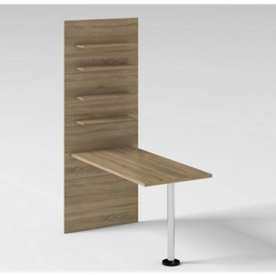 Held Möbel Universal-Ansatztisch Eiche Sonoma Nachbildung - Bild 1