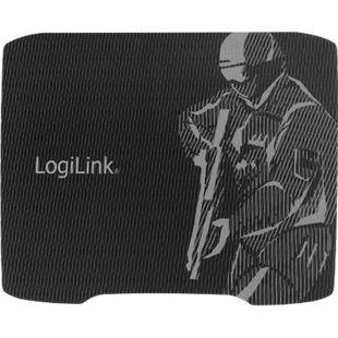 LogiLink ID0135 XL Gaming-Mauspad, 330 x 250 mm, schwarz mit Bedruckung - Bild 1
