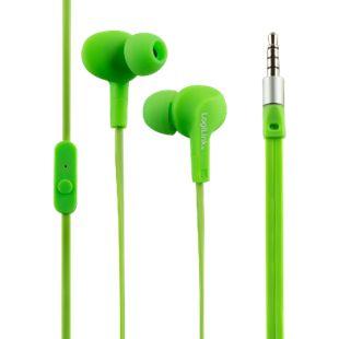 LogiLink HS0044 Wassergeschütztes (IPX6) Stereo In-Ear Headset - grün - Bild 1