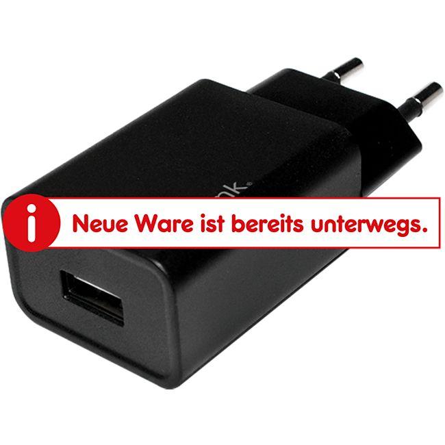 LogiLink PA0135 USB Steckdosenadapter, 1x USB-Port, Qualcomm Quick Charge 2.0, 13.5W - Bild 1