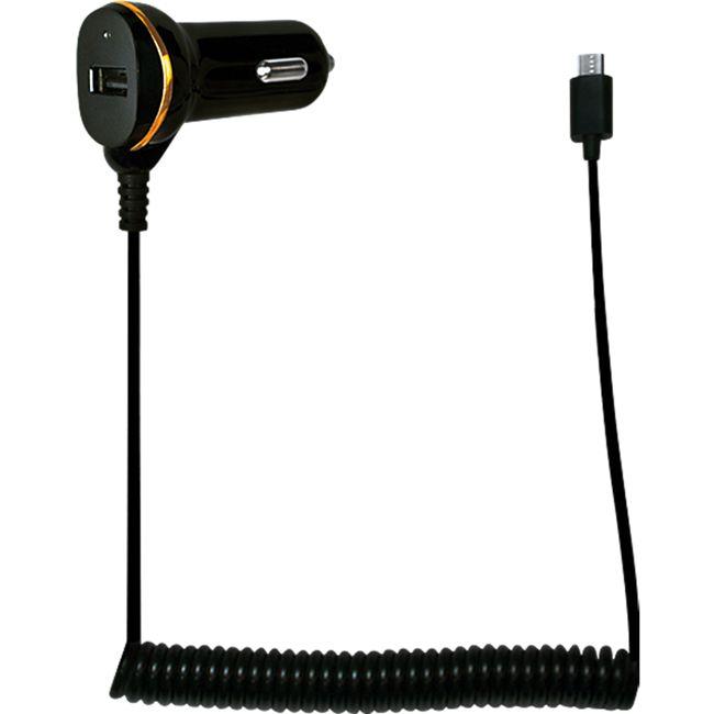 LogiLink PA0147 USB Kfz Netzteil mit Micro-USB Kabel, 1x USB-Port, 10,5W - Bild 1