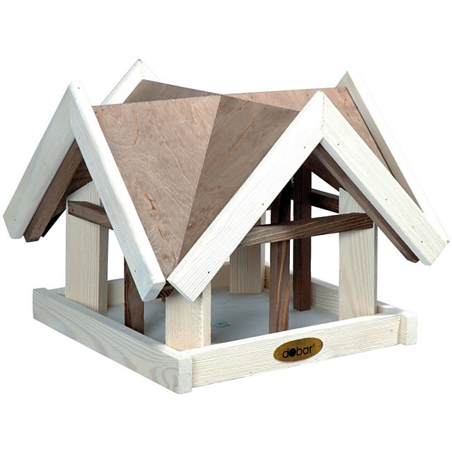 """Dobar Aufwendiges Vogelhaus im """"Antikfinish""""-Design - Bild 1"""