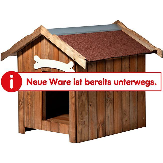 Dobar Isolierte Hundehütte mit Spitzdach - Bild 1
