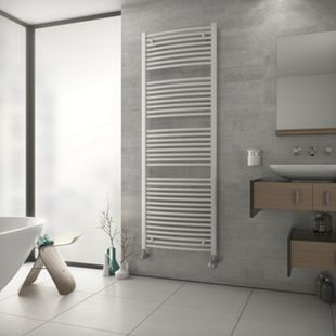 Ximax TOP Designheizkörper B 59,5 x H 117,2 x T 4 cm weiß - Bild 1