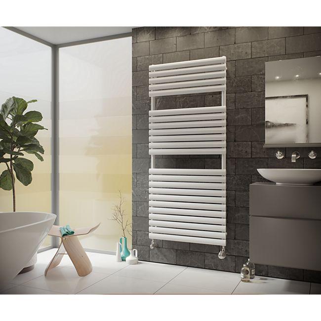 Ximax Nestor Designheizkörper B 60 x H 75,8 x T 8 cm weiß - Bild 1