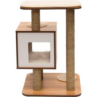 Vesper Katzenmöbel V-Base walnuss - Bild 1