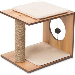 Vesper Katzenmöbel V-stool walnuss - Bild 1