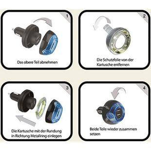 Fresh Tech Nachfüllpack für Dual USB Ladegerät / Lufterfrischer - Bild 1