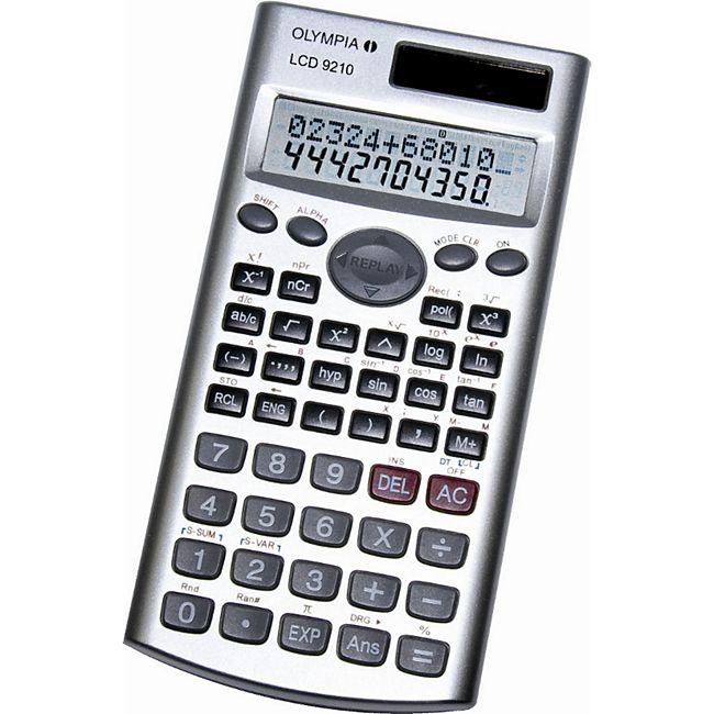 Olympia Taschenrechner LCD 9210 - Bild 1