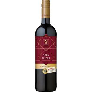 Weingold Dornfelder Qualitätswein Pfalz feinherb 12,0 % vol 0,75 Liter - Bild 1