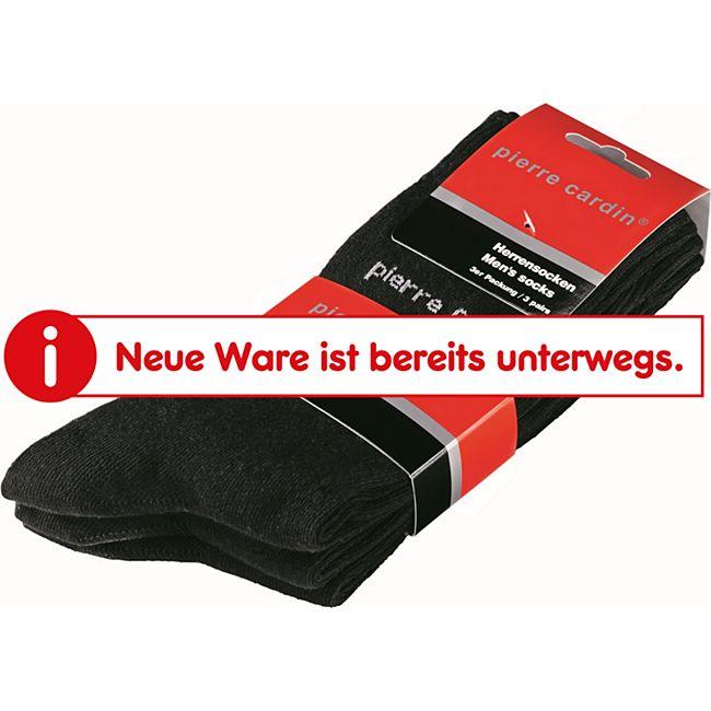 pierre cardin Socken, 3er Pack - Schwarz, Gr. 39-42 - Bild 1