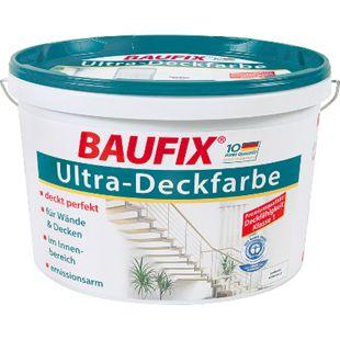 BAUFIX Ultra-Deckfarbe weiß 10 L - Bild 1