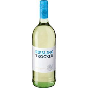 Riesling Qualitätswein trocken 11,5 % vol 1 Liter - Bild 1