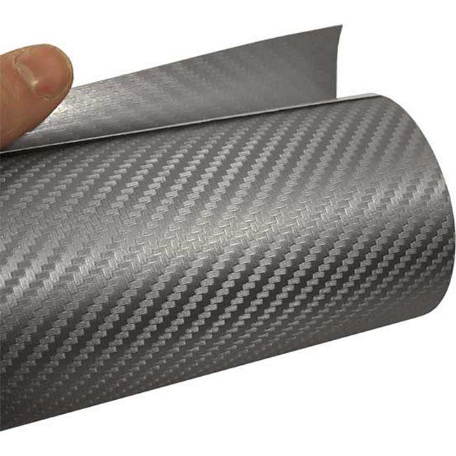 Mauk Carbonfolie, silber, 1,52 m x 3,0 m - Bild 1
